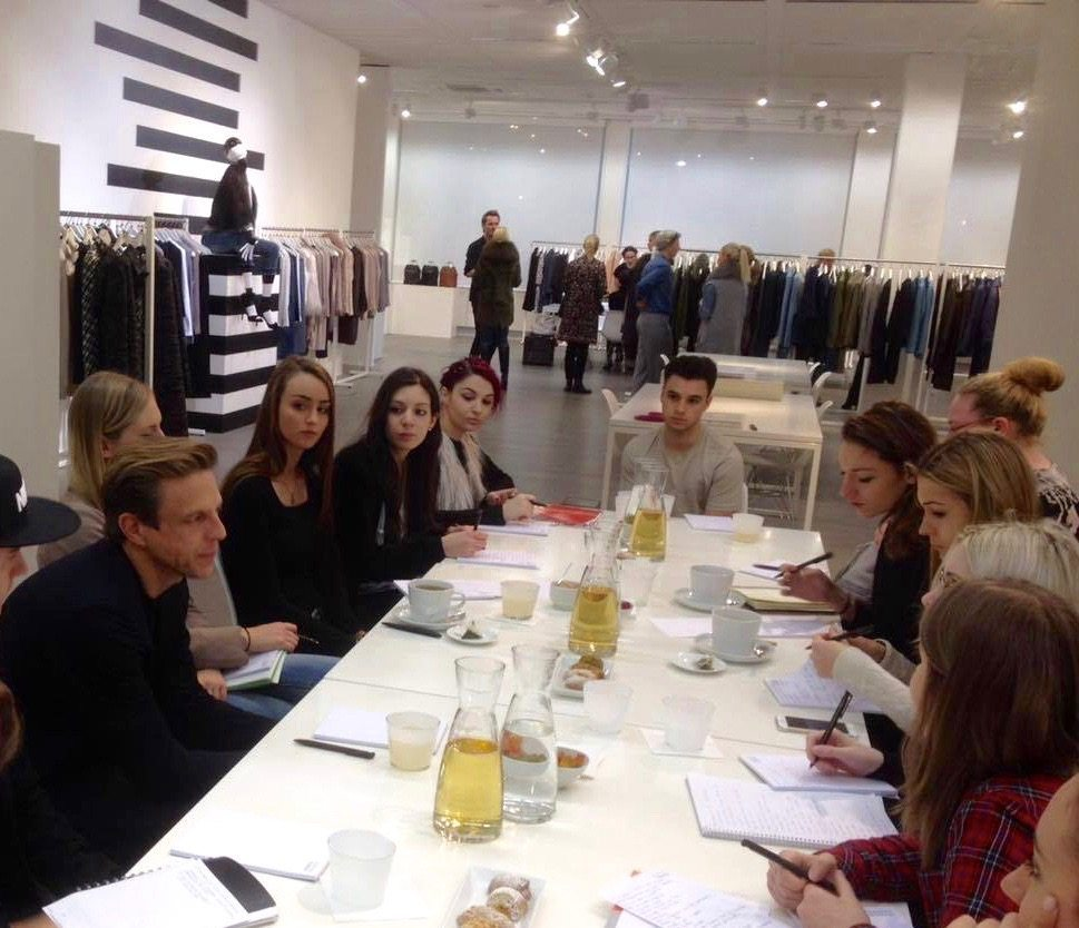 Visiting Steffen Schraut The Heart Of Dusseldorf Fashion Design Institut