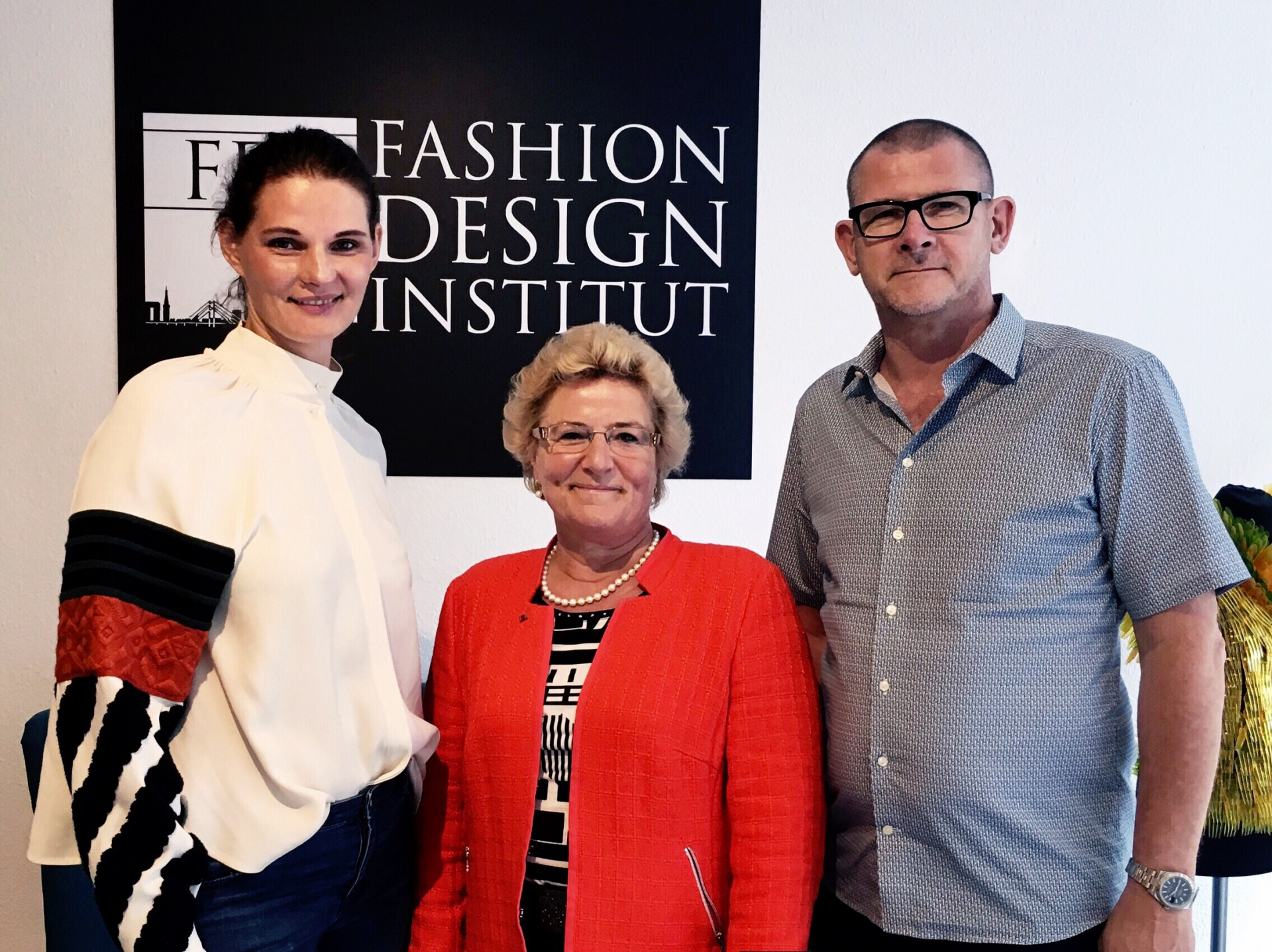 Sylvia Pantel Visits The Fdi Fashion Design Institut